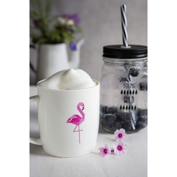 Kubek Mia Natura Flamingo 370 ml